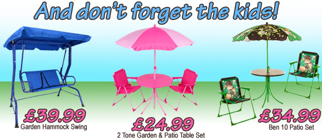 Kid Patio Furniture Latest Deals From Xs Stockcouk
