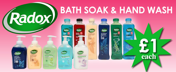how to use radox bath soak