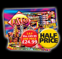 Half Price Calypso Selection Box